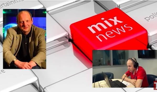 Экс-ведущий программы «Взгляд» Дмитрий Захаров в программе «Встретились, поговорили».