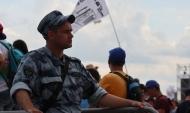 Воронежцы дежурят на фестивале.