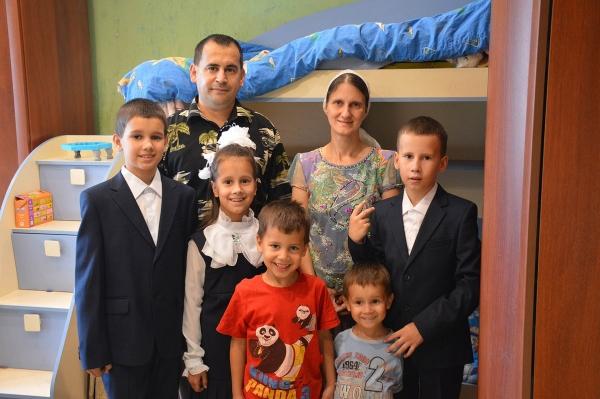 Семья Хущамовых.
