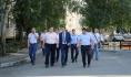 Выездное совещание провел врио мэра Сергей Петрин.