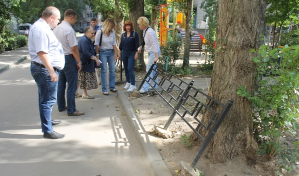 Воронежские дворы у общественников вызвали массу вопросов.