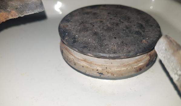 Конфорка газовой плиты.