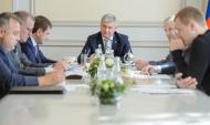 Заседание Совета по содействию в развитии Ассоциации ФК «Факел».