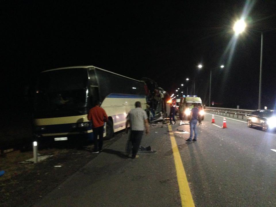 Два автобуса столкнулись в Новоусманском районе.