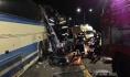 Автобусы получили повреждения.