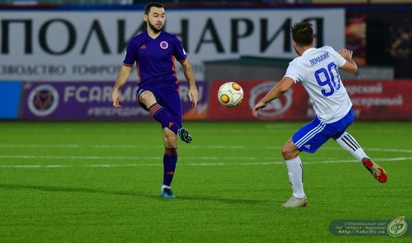 Воронежская команда пропустила 4 мяча.