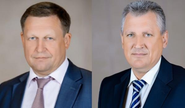 Сергей Попов (слева) и Александр Величко (справа).