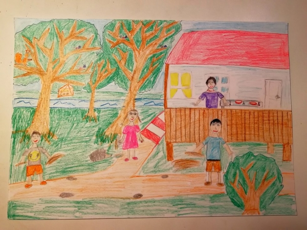 Рисунок Алины Петкевич.
