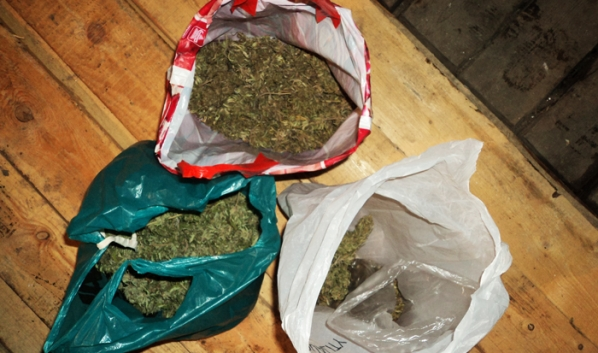 Изъяли марихуану.
