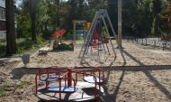 Оборудовали детские площадки.