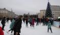 Каток в Воронеже.
