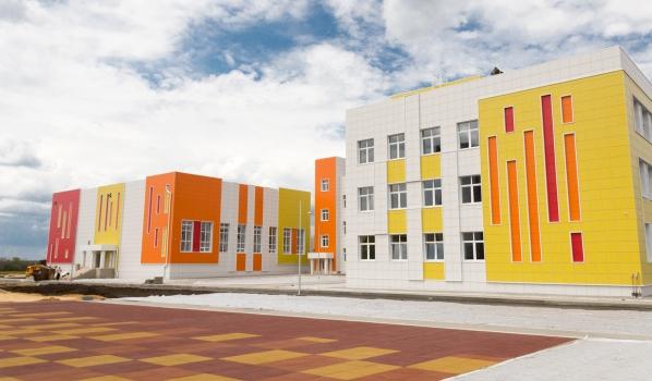 Новая школа в Шилово.