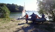 Яхтсмена спасли.