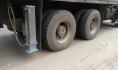 Горел прицеп грузовика.