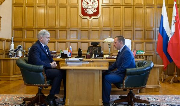 Александр Гусев и Сергей Честикин.