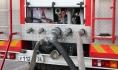 Пожар потушили подоспевшие пожарные.