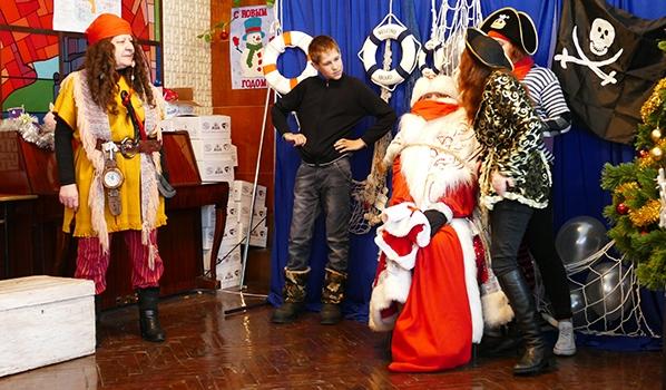 «Пиратская» новогодняя сказка для детей.