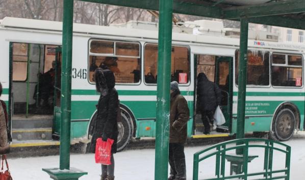 Транспорт будет ходить в новогоднюю ночь.