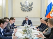 Александр Гусев провел совещание.