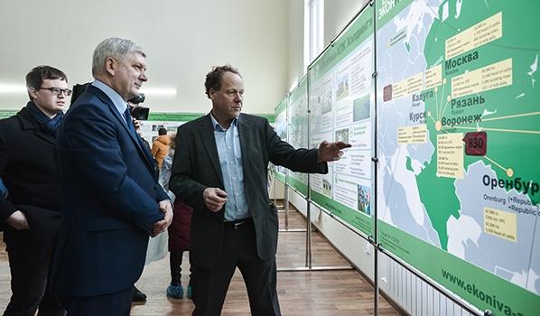 Поездка в Лискинский и Бобровский районы.