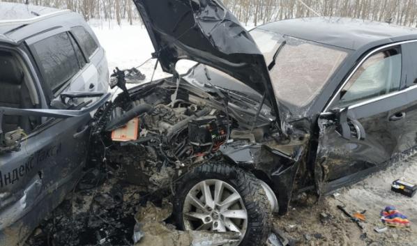 Авария в Нижнедевицком районе.