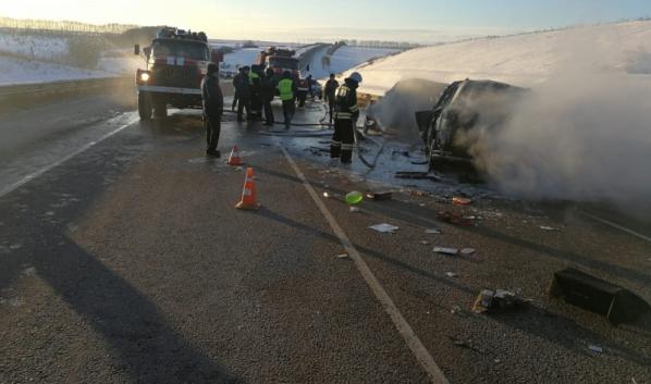 Авария унесла жизни семи человек.