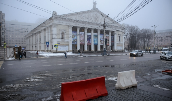 Здание театра хотят снести.