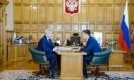 Встреча Александра Гусева с Алексеем Антиликаторовым.