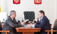 Александр Меркулов и Владимир Нетёсов.