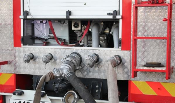 Пожарные быстро справились с пламенем.