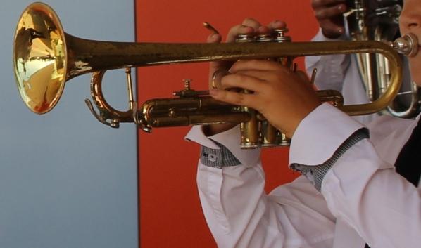 Юные музыканты.