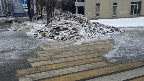 Вот такой переход в Воронеже.