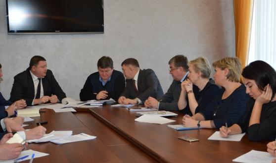 Заседание комиссии в горДуме.