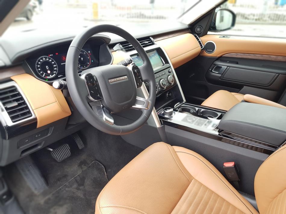 Передний ряд на Land Rover Discovery.