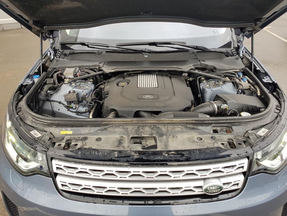 Дизельный двигатель Land Rover Discovery.