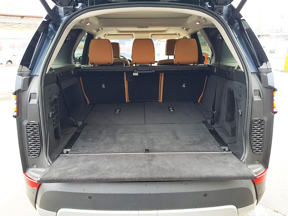Багажник Land Rover Discovery.
