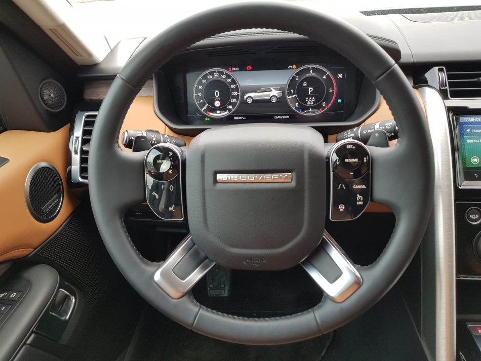 Руль Land Rover Discovery.