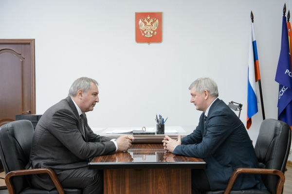 Дмитрий Рогозин и Александр Гусев.