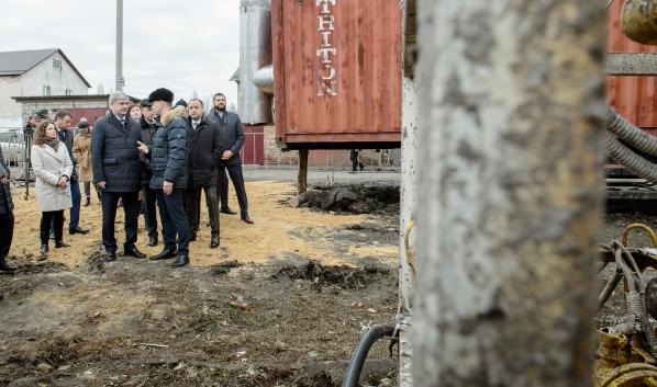 На месте взрыва котельной состоялось совещание.
