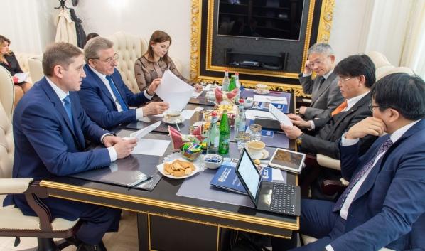 Встреча с японской делегацией.