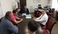 Встреча инициативной группы сотрудников комбината с мэром.