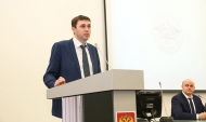 Сергей Петрин в опорном вузе.