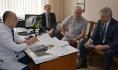 Больницу посетил председатель горДумы Владимир Ходырев.