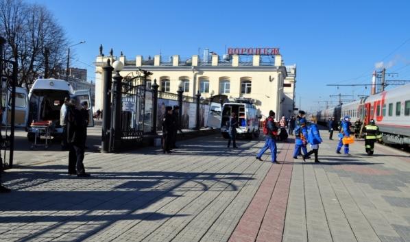 Учения проведут на вокзале Воронеж-1.