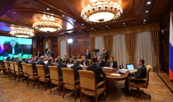 Селекторное совещание в Москве.