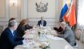 Заседание совета провел губернаор Александр Гусев.
