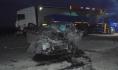 Водитель и пассажир легковушки погибли.
