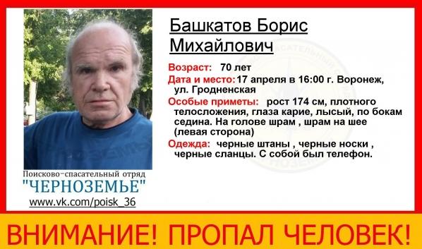 Борис Башкатов.