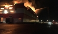 Пожар в распределительном центре «Магнита».