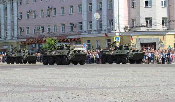 Пройдут репетиции парада Победы.